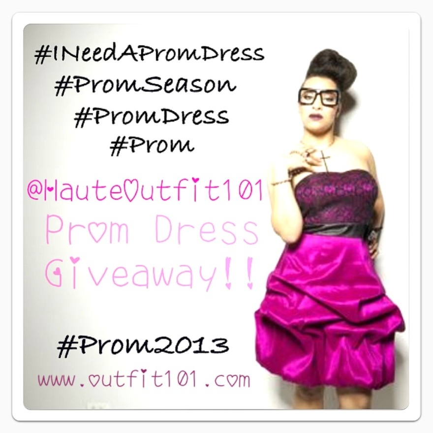 Outfit101 Prom 2013 Dress Giveaway